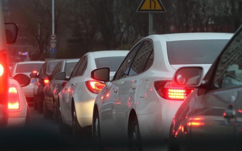 渋滞中のイメージ画像