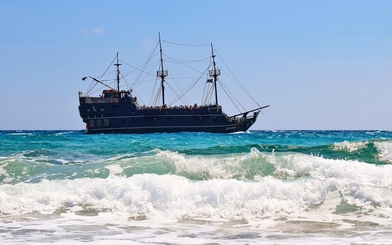 カリブの海賊のイメージ